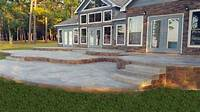 magnificent cement patio design ideas Allied Outdoor Solutions can help with your pergola and ...
