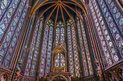 Beautiful Stained-glass Windows Around The World Photos
