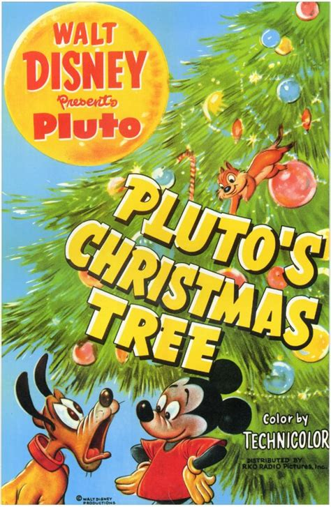 pluto s christmas tree movie posters from movie poster shop