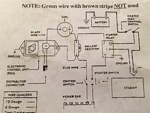4 Pin Ballast Wiring Diagram Mopar Electronic Ignition No