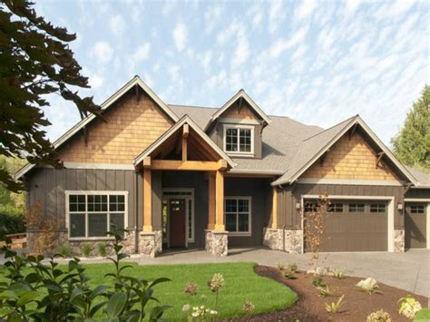one home plans modern one ranch house one craftsman house