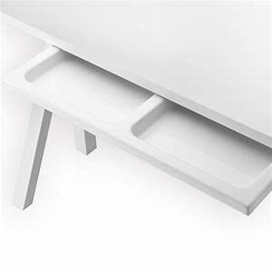 Plateau Pour Bureau : tiroir pour plateau bureau blanc string pour chambre enfant les enfants du design ~ Teatrodelosmanantiales.com Idées de Décoration