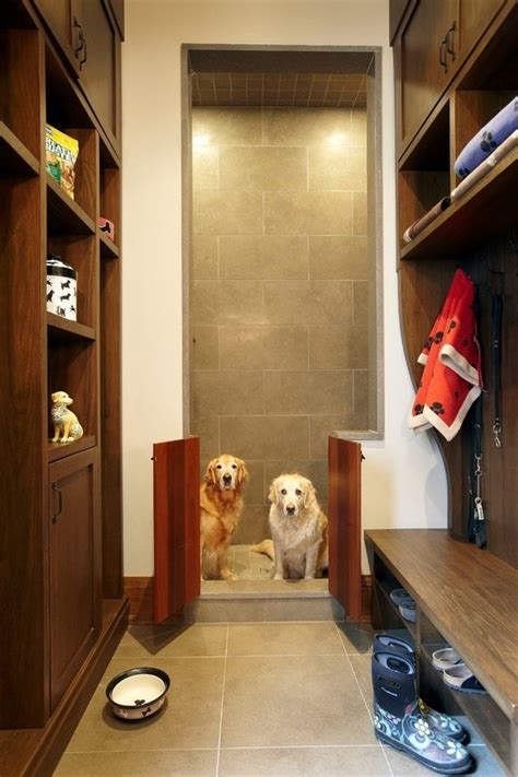 easy dog wash station ideas  home tail  fur