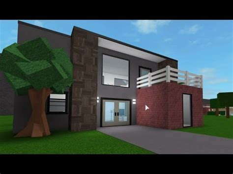 building   house  roblox bloxburg youtube