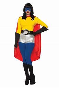 Adult, Super, Hero, Costume, Cape, Men, Women, Halloween, Villain, Magician, Phantom