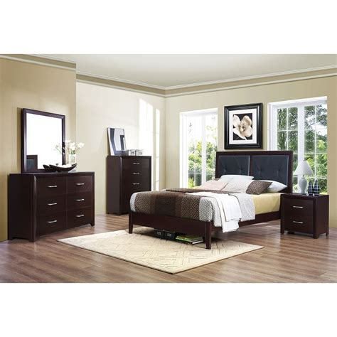 Espresso King Bedroom Set by 1299 99 Contemporary White 4 King Bedroom Set