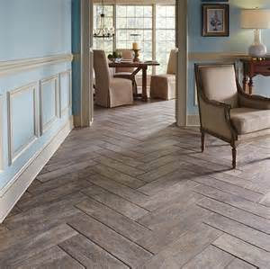 marazzi montagna rustic bay 6 in x 24 in glazed porcelain floor and wall tile herringbone