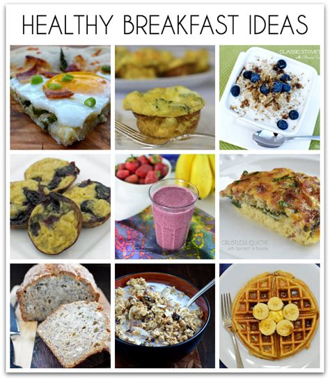 tasty breakfast ideas 18 healthy breakfast ideas