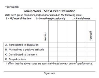 quick pay form simple and quick group work evaluation form free from