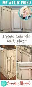 how to paint cream cabinets with glaze this is my 1 With what kind of paint to use on kitchen cabinets for shabby chic kitchen wall art
