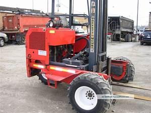 01 Moffett M5500 Forklift Piggyback