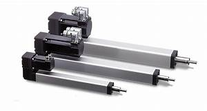 Thomson Pc Series Electromechanical Linear Actuators With Factory Integrated Servo Motors