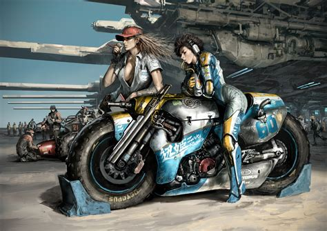 Puppeteer's Motorcycle Art