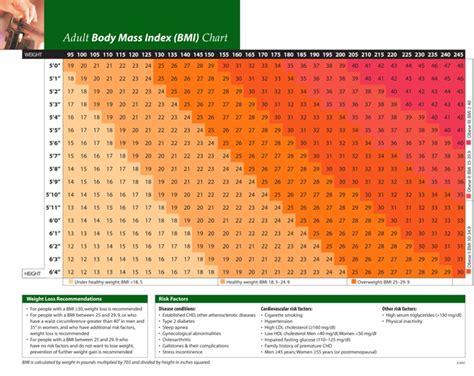 printable body mass index calculator