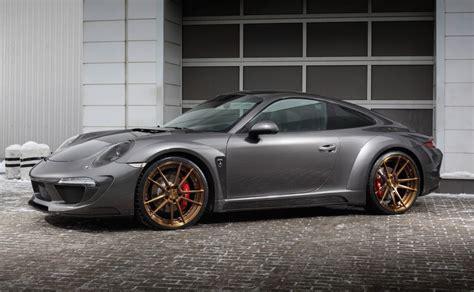 Topcar Develops Carbon Fibre Wide Body Kit For 991 Porsche