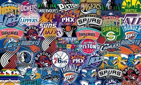 nba teams logos auto collage