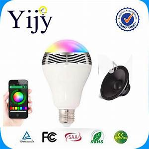 Bluetooth Speaker Smart Dimmable LED Light Bulbs Color ...