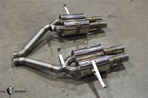 M5 Exhaust by Fluid Motorunion S New E39 M5 Exhaust Rear Section Car