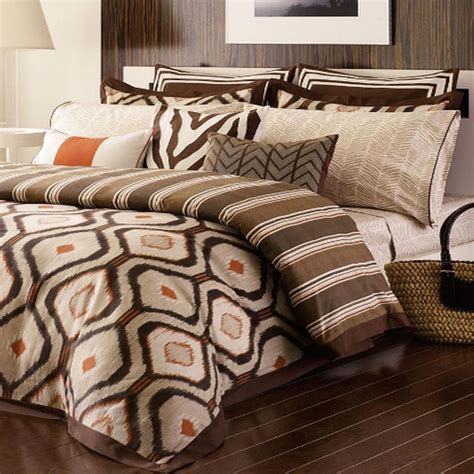 michael kors serengeti queen comforter set new ebay
