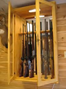 armoire 224 fusils en bois massif