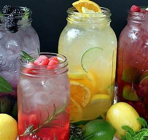 Fruit & Herb Flavored Water | Recipe
