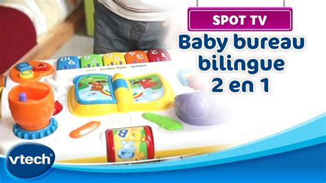 vtech baby bureau baby bureau bilingue 2 en 1 vtech