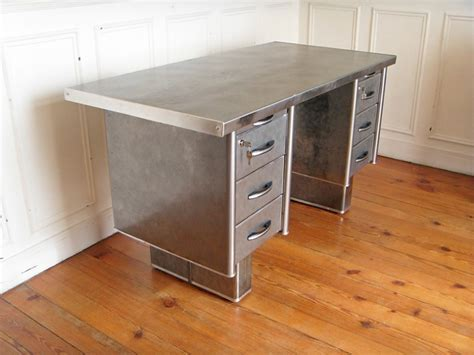 bureau strafor bureau metal strafor style and steel jpg tables