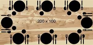 Taille Table 6 Personnes : quelles dimensions de table pour vos convives artmeta ~ Melissatoandfro.com Idées de Décoration