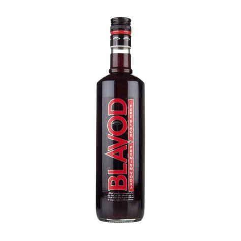 what is black vodka blavod pure black vodka 70cl drinksupermarket