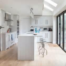 shaker style kitchen island white shaker style kitchen decorating housetohome co uk