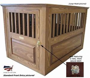 17 best images about wooden dog crate on pinterest With best wooden dog crate