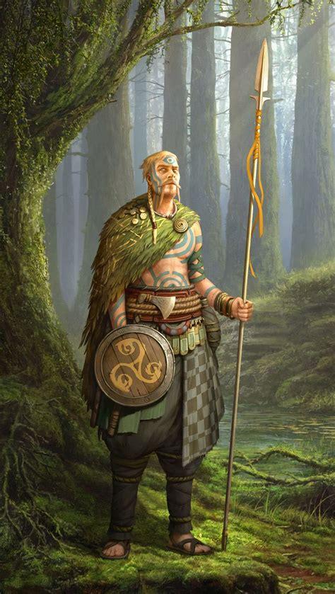 celts roman zawadzki celtic warriors fantasy character