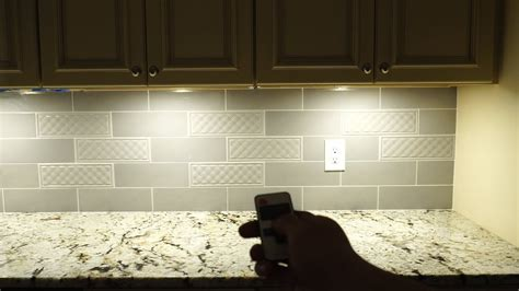 Aiboo Plug-in Led Under Cabinet Puck Lights Installation
