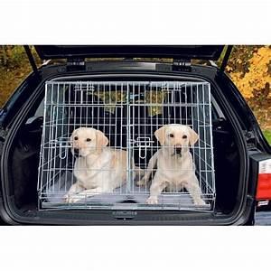 Cage Transport Chien Voiture : cage de transport m tal pliante double pour chiens caisses de transport m tal morin ~ Medecine-chirurgie-esthetiques.com Avis de Voitures