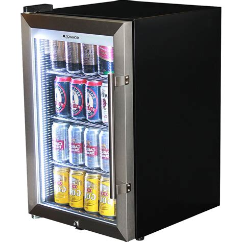 Small Bar With Refrigerator by Outdoor Glass Alfresco Bar Fridge With Lock