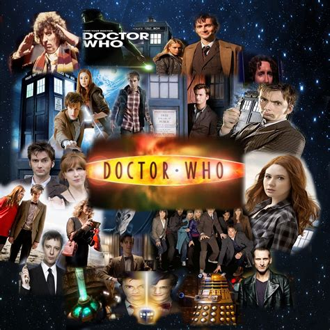 Doctor Who Wallpaper Tardis Doctor Who Collage Rawr1203