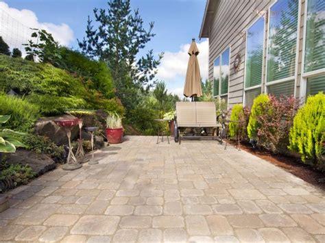 clean  cement patio diy