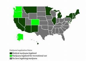 how many states legalized recreational marijuana