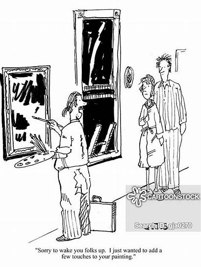 Started Forced Entry Finish Cartoon Funny Cartoons