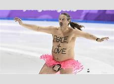 Olympics Invaded By Streaker Wearing Nothing But A Tutu