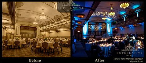 wedding lighting examples