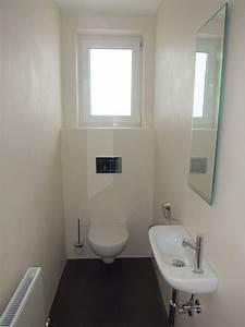 Kleines Wc Fliesen : g ste wc fliesenlos g ste wc pinterest g ste wc badezimmer und gast ~ Markanthonyermac.com Haus und Dekorationen