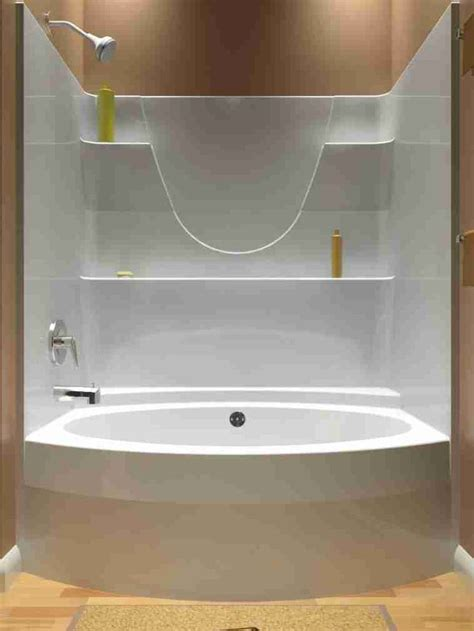 Tub And Shower Units - best 25 one shower stall ideas on one