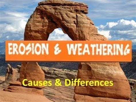 erosion  weathering  kids   differences