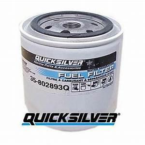 Genuine Mercruiser Water Separating Fuel Filter 35-802893q01