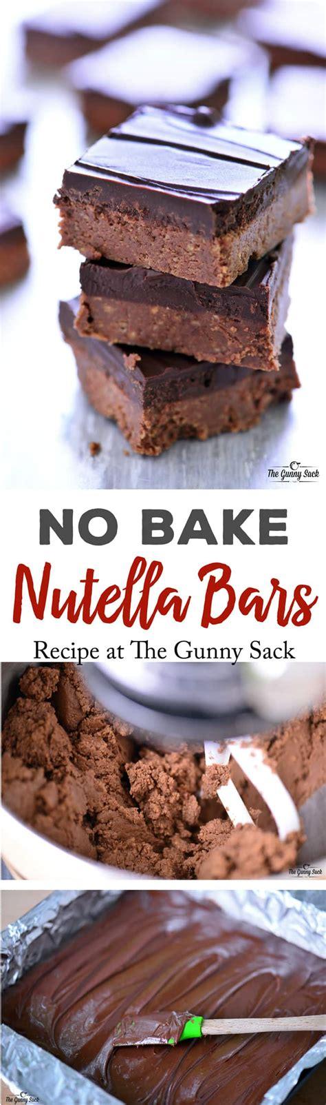 easy no bake recipes easy no bake nutella recipes
