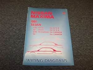 1991 Nissan Maxima Sedan Electrical Wiring Diagram Guide