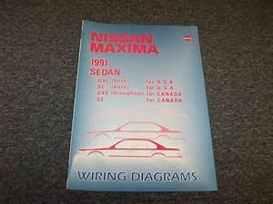 1991 Nissan Maxima Sedan Electrical Wiring Diagram Guide