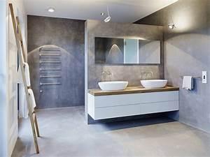 Bad Betonoptik Holz : uncategorized wundersch n aktuelle badezimmer trends ~ Michelbontemps.com Haus und Dekorationen