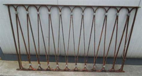 ringhiera antica ringhiera in ferro battuto antica con decori a san fior
